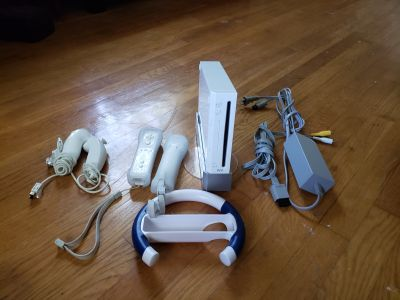 Wii with accessories & games