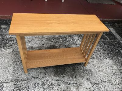 Console Or Entry Way Table