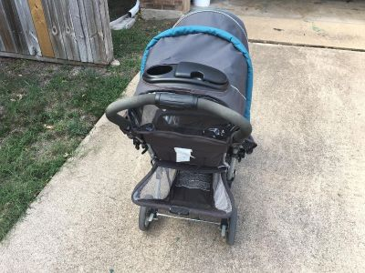 Graco dual seat stroller