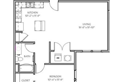 2 bedrooms Apartment - Brand new and available in.