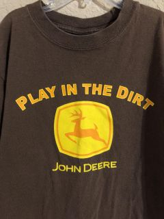 John Deere Play In The Dirt. Nice Condition. Size 10-12.