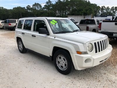 2008 Jeep Patriot Sport (White)
