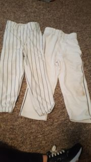 Youth small black and white pants