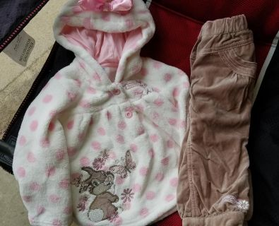 Disney Thumper girls outfit