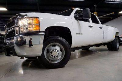 2010 Chevrolet Silverado 3500HD W/T 6.6L LMM Duramax Diesel 2WD 1-owner