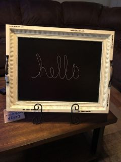 Chalkboard with Stand (doubles as a serving tray)