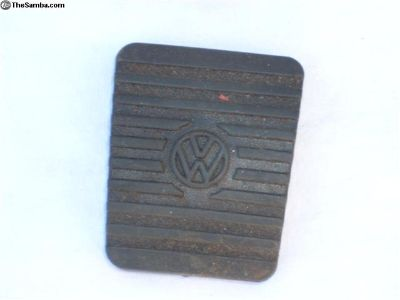 Orig VW rubber pad for brake or cltch
