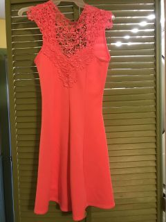 Charlotte Russe Hot Pink Party Dress
