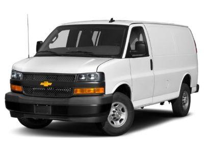 2018 Chevrolet Express Cargo Van (Summit White)