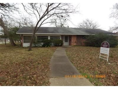 3 Bed 2 Bath Foreclosure Property in Bryan, TX 77801 - Nagle St