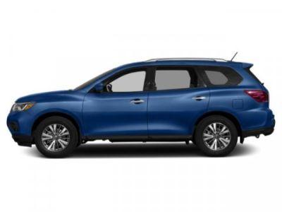 2019 Nissan Pathfinder S (Caspian Blue Metallic)