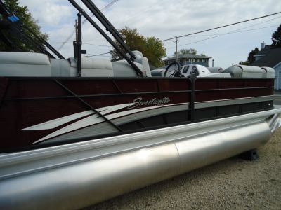 2018 Sweetwater SW2286MT TriToon Pontoons Boats Coloma, MI