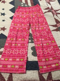 Girls size large 10/12 pajama pants, excellent condition