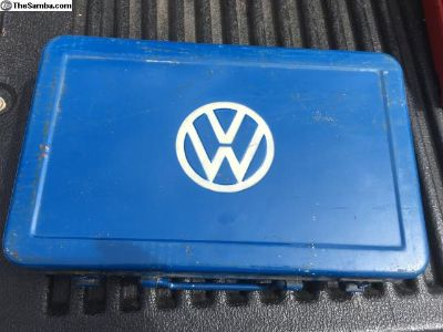 Nice original vw tool box