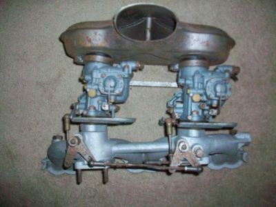 Sell Mercedes Benze 220 ? Solex carburetors, manifold, Mann air filter & linkages motorcycle in Fort Defiance, Virginia, United States, for US $525.00