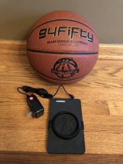 Reduced!!~94Fifty Smart Sensor Training Basketball for iPhone and Android (Men's Size 7)-29.5