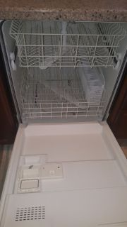 Automatic dishwasher black