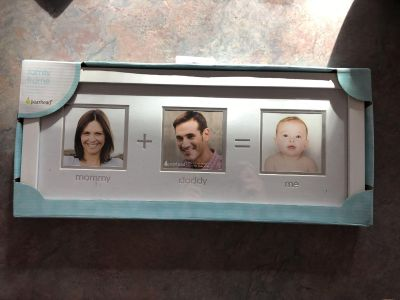 Mom +dad = me picture frame