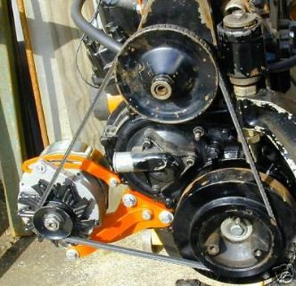 Sell MERCRUISER 470 ALTERNATOR CONVERSION w/POWER STEERING motorcycle in Marysville, Washington, United States, for US $395.00