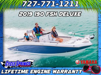 2019 Yamaha 190 FSH Deluxe Jet Boats Clearwater, FL