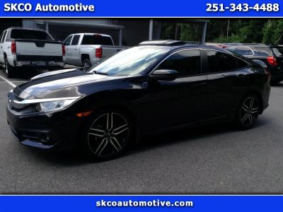 2016 Honda CIVIC SEDAN 4dr CVT EX-L (BLACK)
