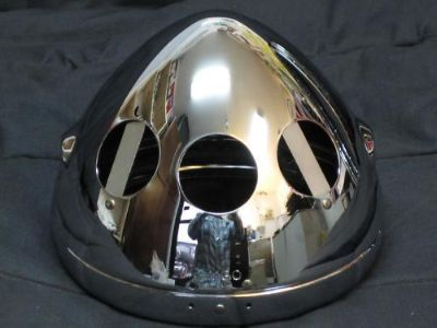 "Find HEADLIGHT shell 7"" chrome bucket with rim T140 Triumph BSA part # 99-7098 motorcycle in Canyon Country, California, US, for US $54.00"