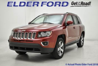 2016 Jeep Compass Latitude (Deep Cherry Red Crystal Pearlcoat)
