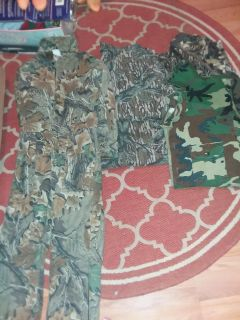 Youth Camo Suit, Shirts, Pants