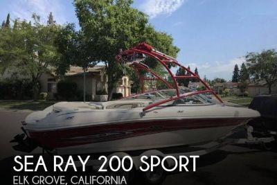 2005 Sea Ray 200 Sport