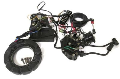 Purchase Mercury Force Stator Coils Switchbox Electrical AY 40 50 HP 398-9710A43 18495A13 motorcycle in Ada, Michigan, United States, for US $595.00