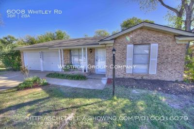 6008 Whitley Rd Watauga- 3 bed 2 bath