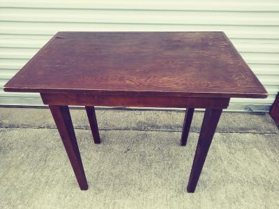 Project Piece, Vintage, handcrafted ( i counted 3 different kind of woods)