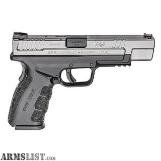 For Sale: SPRINGFIELD XD MOD.2 TACTICAL STAINLESS / BLACK 9MM 5-INCH 16RD FIBER FRONT SIGHT, RAIL
