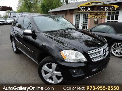 2009 Mercedes-Benz M-Class ML350 (Black)