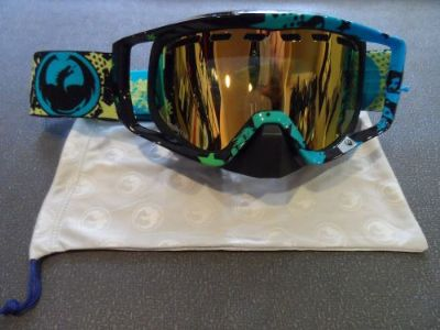 Purchase Dragon Vendetta Snow Girls Girls Gold Ion Lens Goggle Snowmobile Ski Snow Board motorcycle in Longview, Washington, United States, for US $54.95