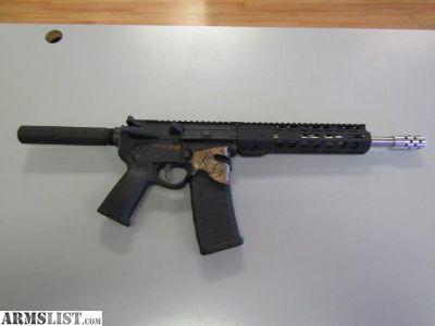 For Sale: Sharps Spartan AR-15 Pistol W/PSA Stainless Upper