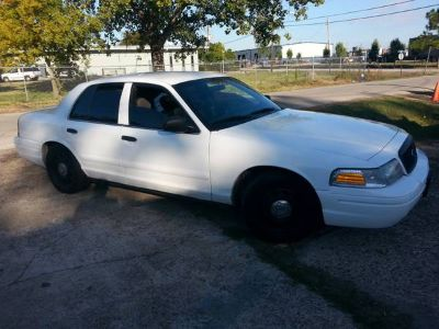 2008 crown Vic police interceptor (Baytown)