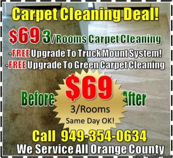 Green Carpet Cleaning, Same Day Service