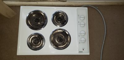 Kenmore electric stove top