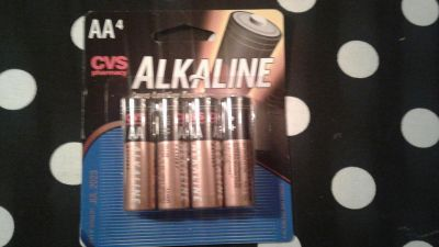 4 AA Batteries New, Factory Sealed Xpire Jul 2023 ($4.29 Retail) $2