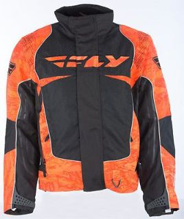 Find Fly Racing SNX Black Orange Waterproof Insulated Snowmobile Snow Jacket Coat motorcycle in Golden, Colorado, United States, for US $127.50