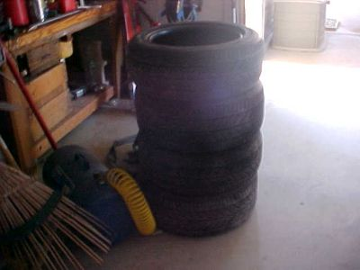 4 USED TIRES 205/55/R16