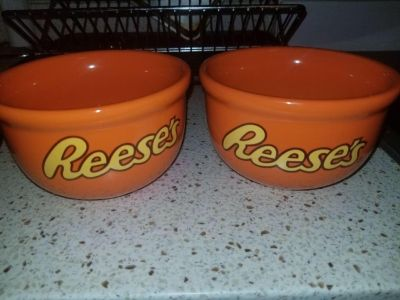 2 large Reese s bowls