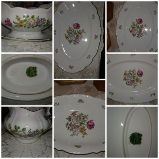 Vintage fine china dishes