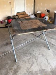 Garage Shop Table