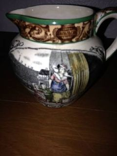 Adams Pottery England Luster Cries Of London Creamer