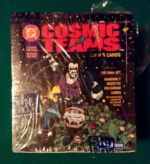 DC COMIC TRADING CARDS UNOPENED BOX