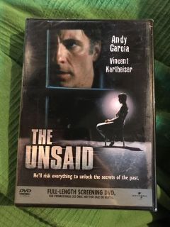 New- The Unsaid Dvd