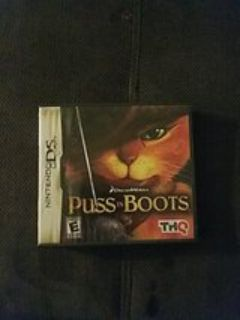 nintendo DS puss in boots