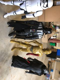 EUC Star Wars action figures